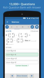 GUJCET MCQ 2018 Group-A screenshot 6