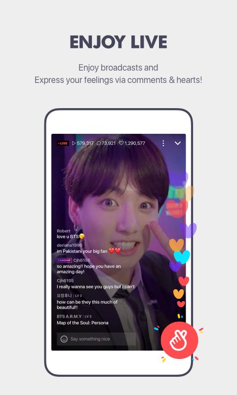 V – Live Broadcasting App screenshot 2