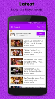 Hindi HD Video Songs 1 7 Download APK for Android - Aptoide