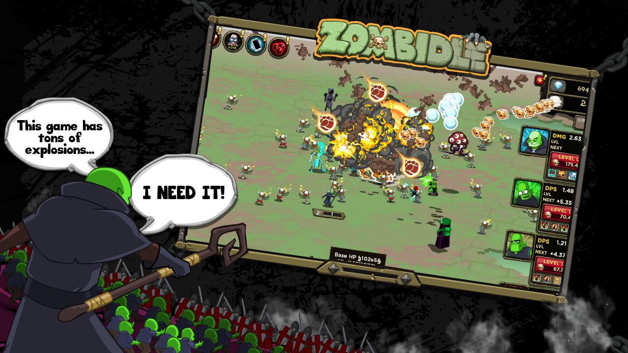Zombidle screenshot 1