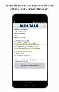 ALDI TALK screenshot 2