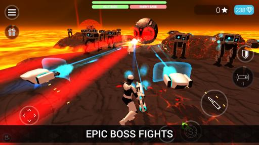 CyberSphere: TPS Online Action-Shooting Game screenshot 3