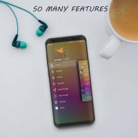 S+ Music Player 3D - Premium Screen