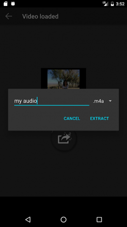 Extract Audio from Video 1 6 1 Download APK for Android