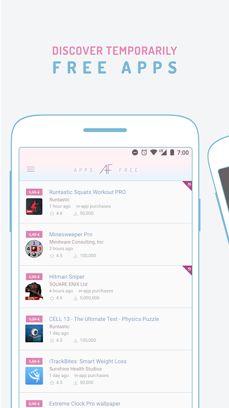 AppsFree - Paid apps free for a limited time screenshot 1