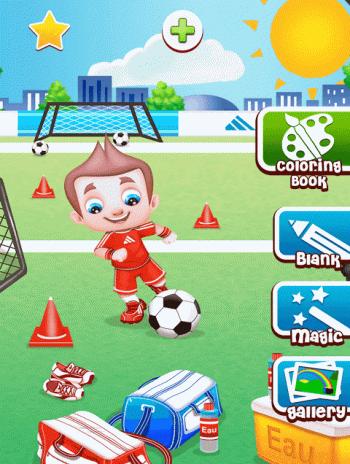 Futbol Boyama Kitabı Oyunu 924 Android Aptoide Için Apk Indir