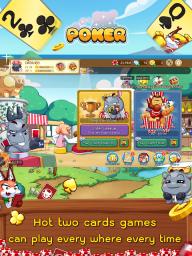 Dummy & Toon Poker Texas slot Online Card Game screenshot 16