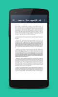 PDF Viewer & Reader Screen