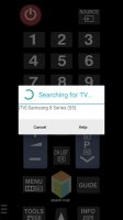 TV (Samsung) Remote Control Screen