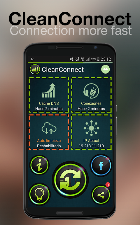 CleanConnect Master Connection screenshot 2