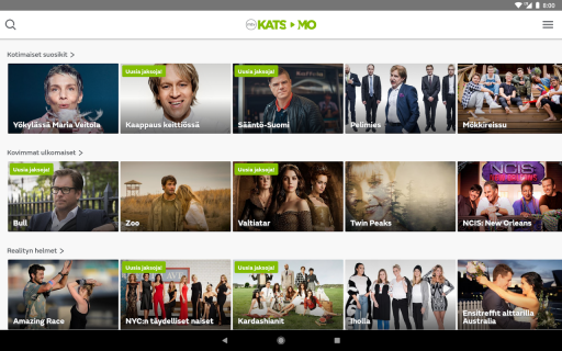 MTV Katsomo screenshot 9