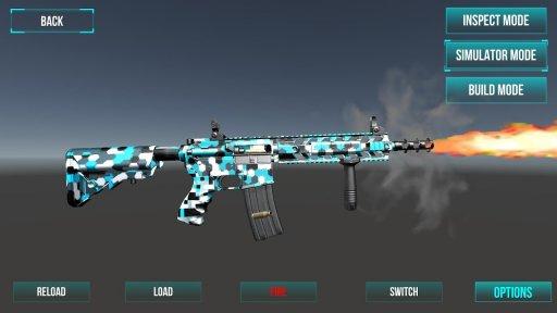 3D Ultimate Gun Simulator Builder screenshot 1