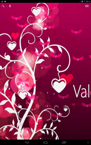 valentine love live wallpaper screenshot 1 valentine love live wallpaper screenshot 2 - Live Valentine Wallpaper