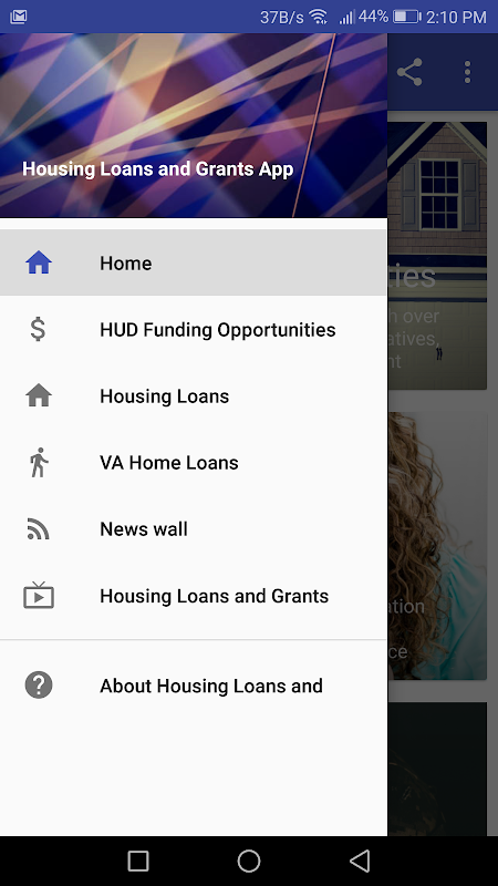 Housing Loans and Grants screenshot 1