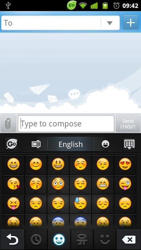 GO Keyboard screenshot 4