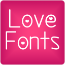 Fonts Love for FlipFont® Free