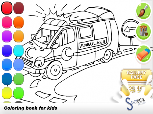coloring book ambulance 1.0.190417 Download APK for Android - Aptoide