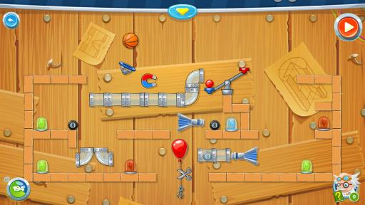Rube's Lab - Physics Puzzle screenshot 4