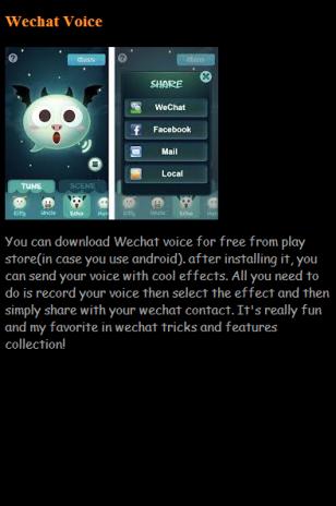 WeChat Hidden Tricks 1 0 Download APK for Android - Aptoide