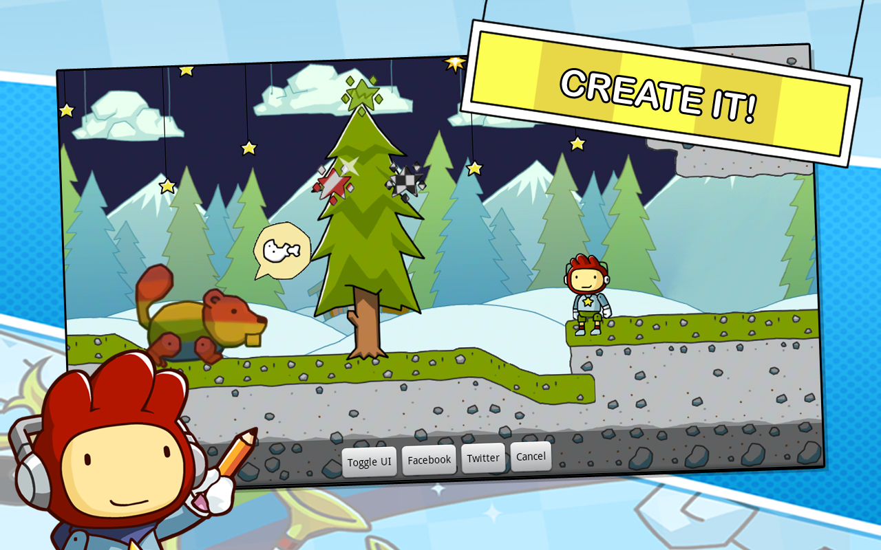 Scribblenauts Remix screenshot 2