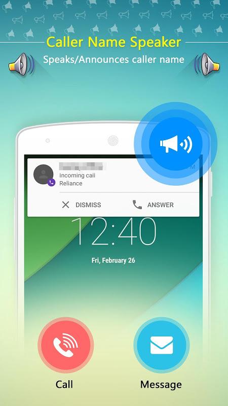 application android pour connaitre le nom de lappelant