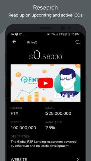 Tokens - Ethereum Portfolio Tracker & ICO News screenshot 5