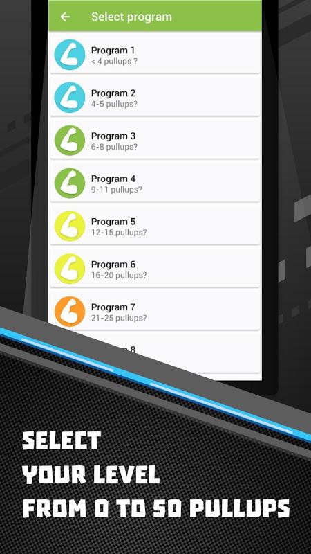 50 Pullups workout Be Stronger screenshot 2
