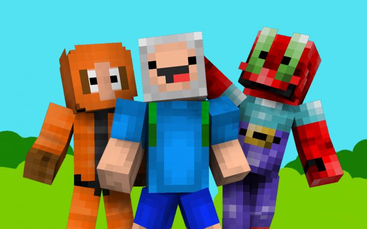Cartoon Skins For Minecraft PE Descargar APK Para Android - Skins para minecraft pe descargar gratis