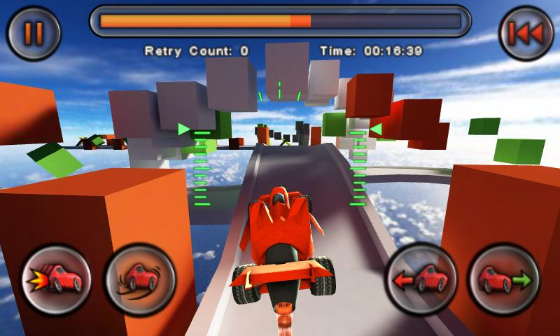 Jet Car Stunts screenshot 1
