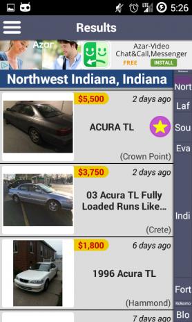 Craigslist Checker - for sale, cars, jobs, rentals 2 5