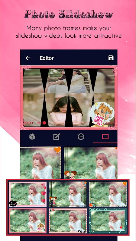 Criador de vídeos screenshot 2