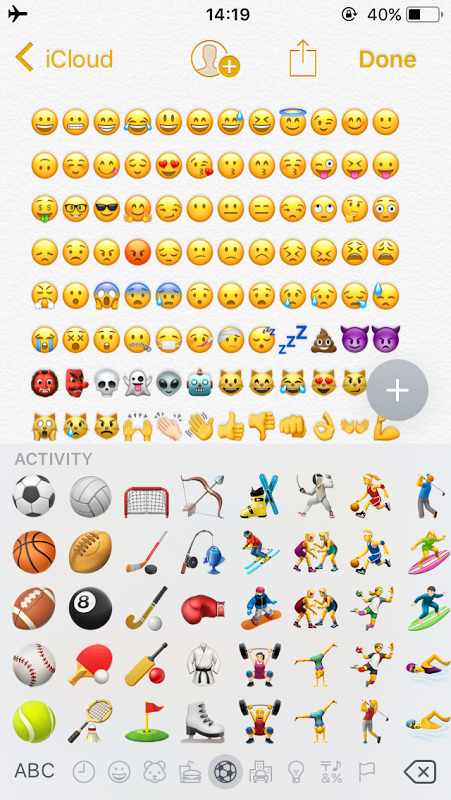 emoji iphone uptodown