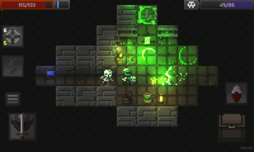Caves (Roguelike) screenshot 2