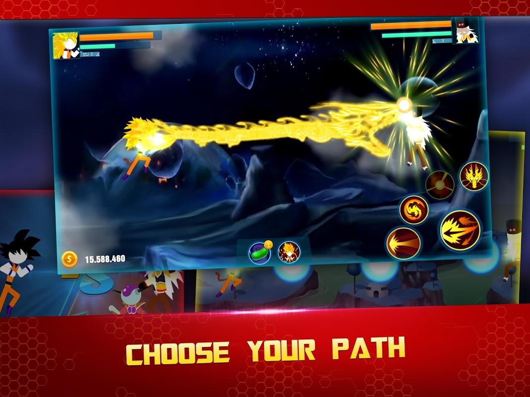 Stick Z: Super Dragon Fight screenshot 2