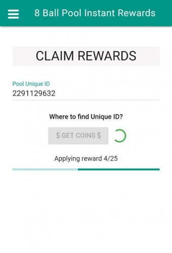 free coins pool instant rewards apk