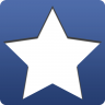 Star For Facebook Icon