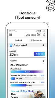 My3 | Area Clienti 3 screenshot 1