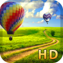 Air balloon live wallpaper HD