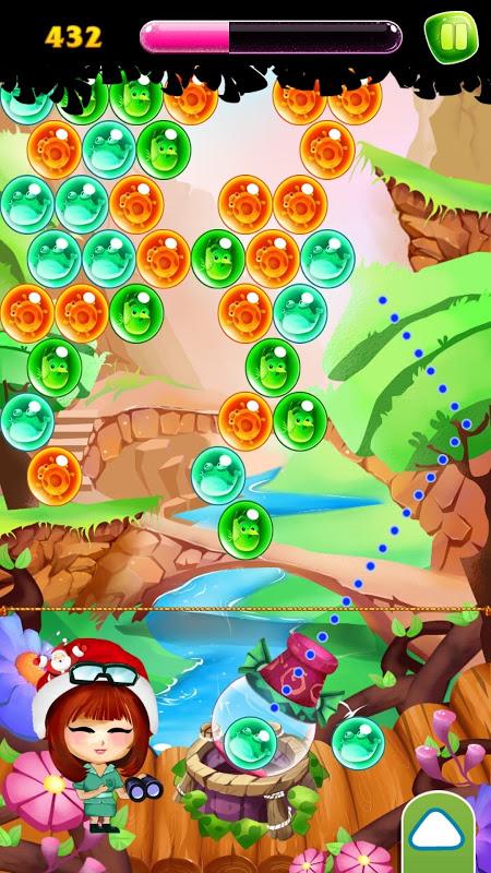 Bubble Shooter - Pet's Ball screenshot 1