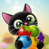 Fruity Cat  - bubble shooter Icon