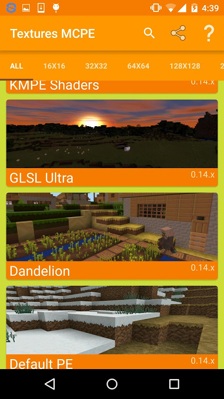 Texture Pack for Minecraft PE screenshot 1