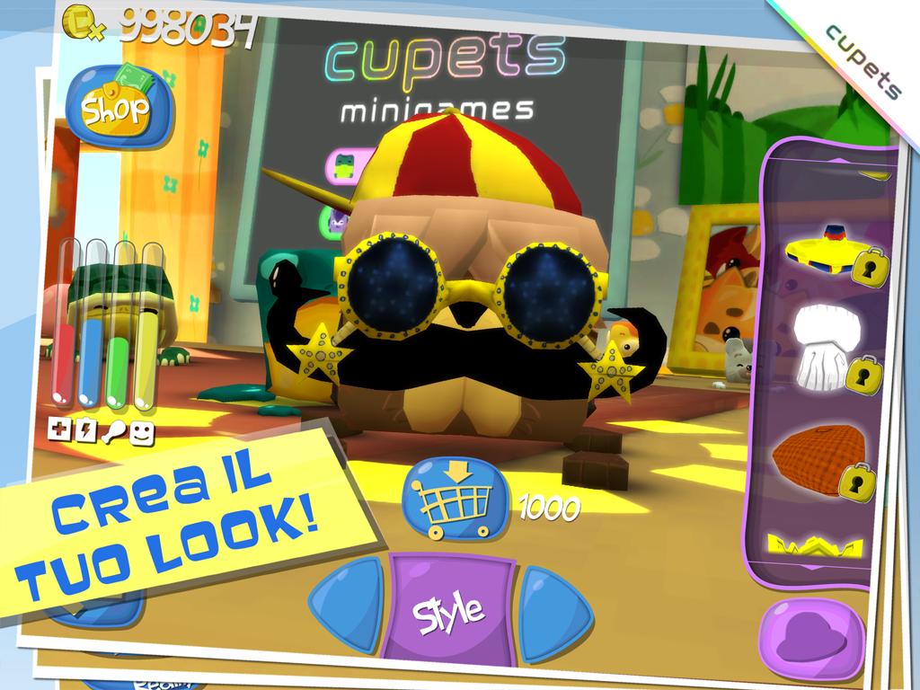 Cupets screenshot 1