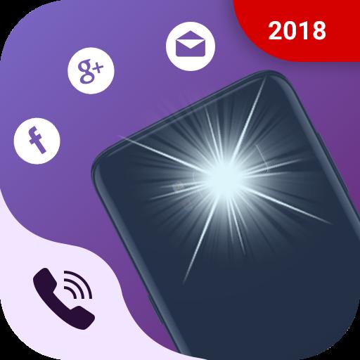 Flash Call Alert Flashlight Ringtone Icon