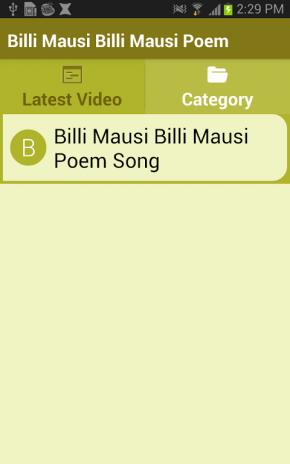 Billi Mausi Billi Mausi Poem 4 1 Download APK for Android