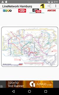 Hvv Karte Abcde.Liniennetze Hamburg 1 5 Laden Sie Apk Fur Android Herunter