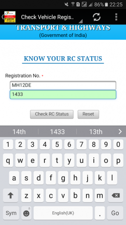 know your rc status