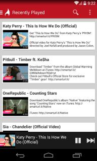 FireTube: YouTube Music Player screenshot 4