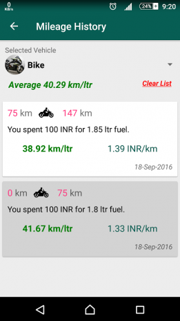 mileage calculator 1 10 download apk for android aptoide