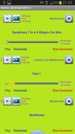 Download music for free in mp3 screenshot 3