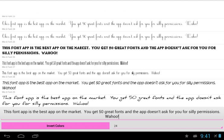 fonts for flipfont 50 6 screenshot 1